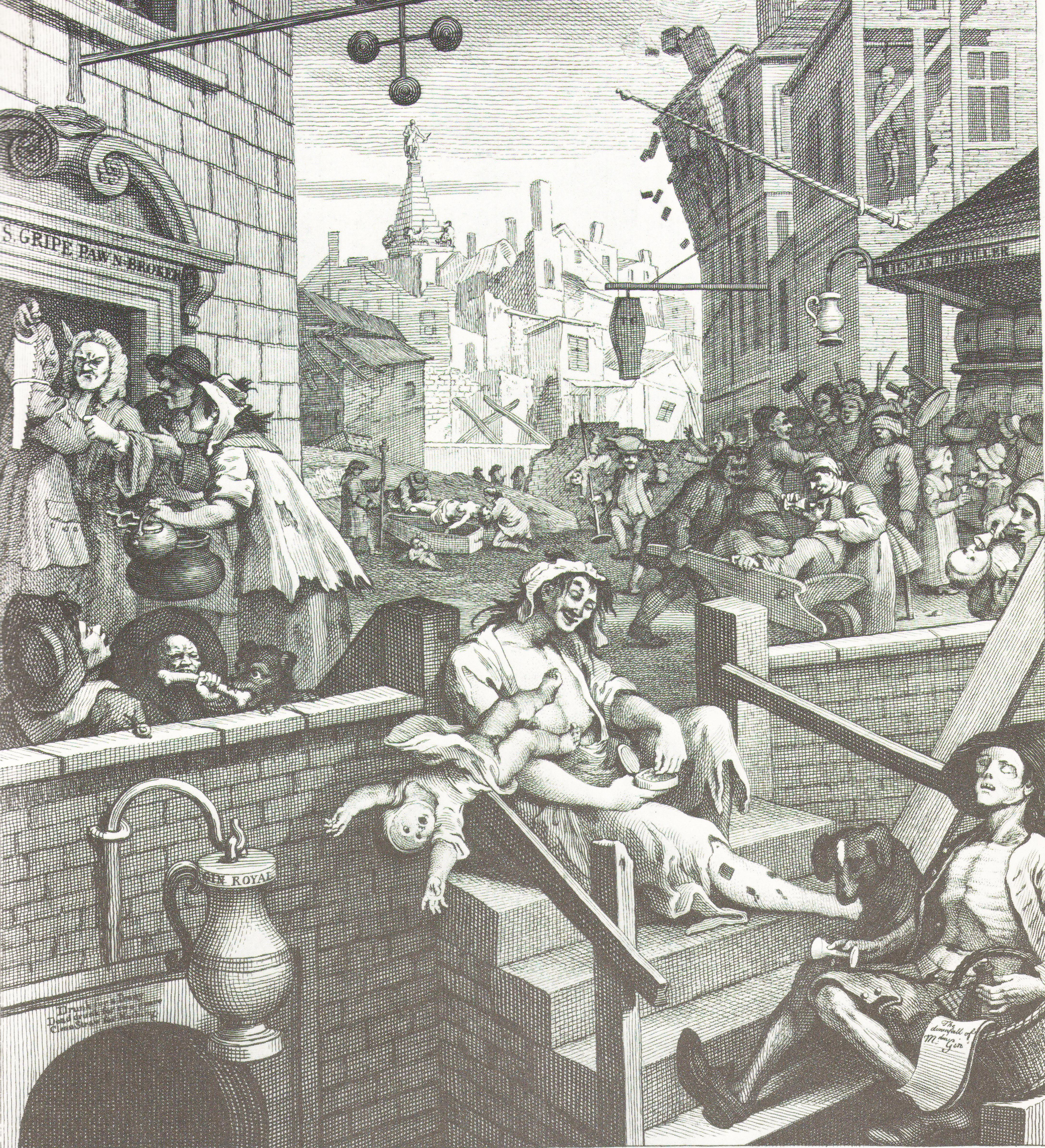 beer street and gin lane essay